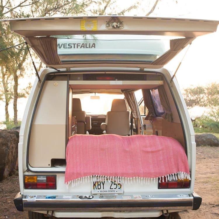 Keep it breezy. Volkswagen Vanagon/Westfalia 1986