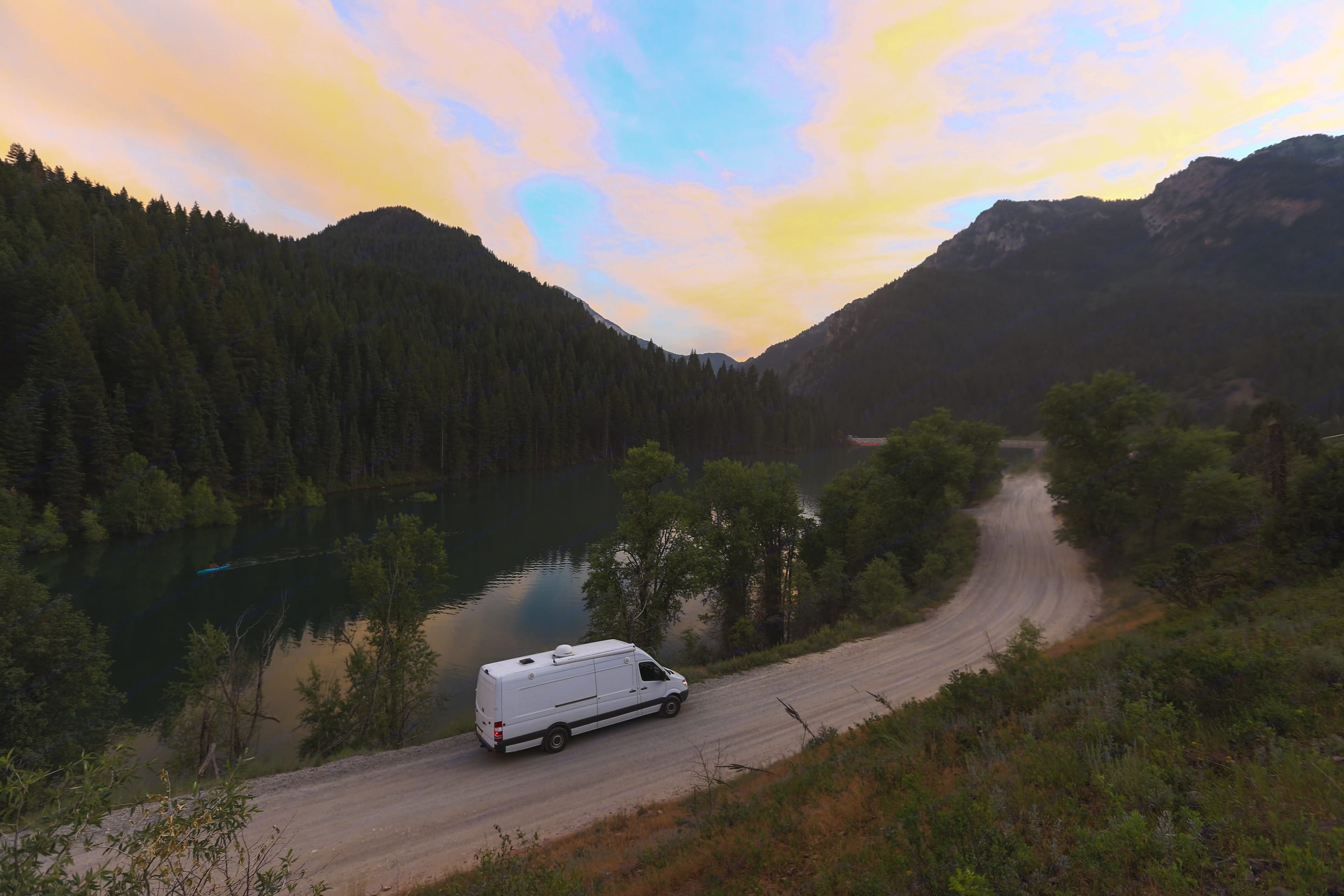 One of the many beautiful places you can visit in Utah!. Mercedes-Benz Sprinter 2013