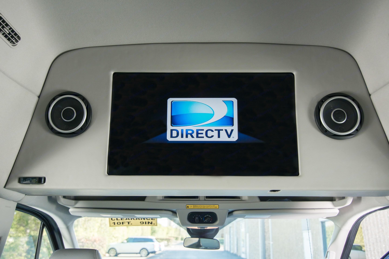 DirecTV, Apple TV, Samsung smart TV.. Ford Transit 350 HD 2015