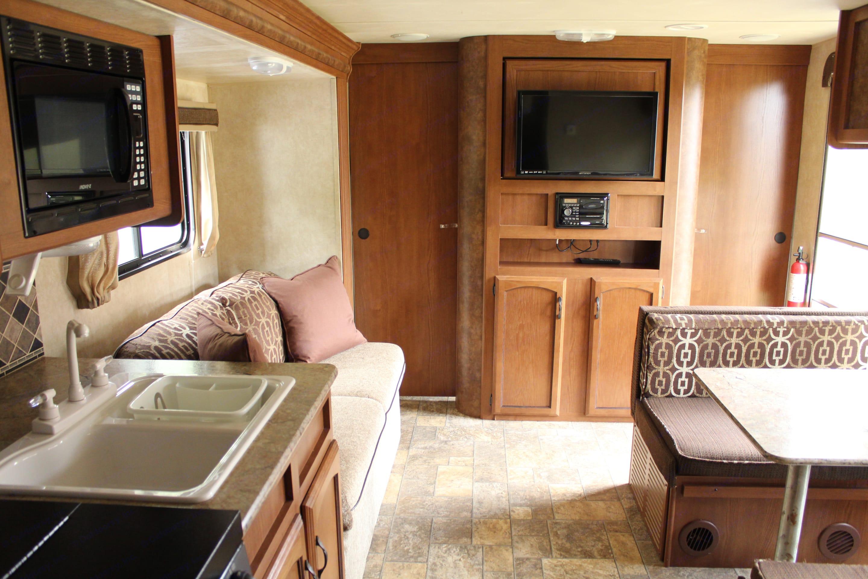 Main living area. Forest River Salem Cruise Lite 2012