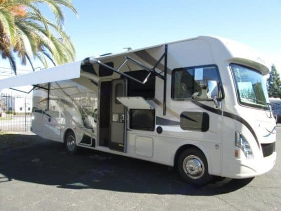 Side with Awning out. Thor Motor Coach A.C.E 2016