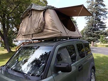 Driver side ToyBox Camper. . Honda Element 2005
