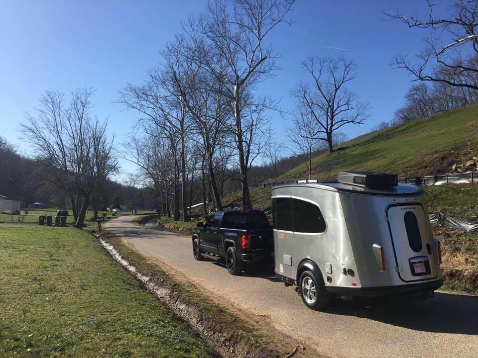WV Road Trip . Airstream Base Camp 2017
