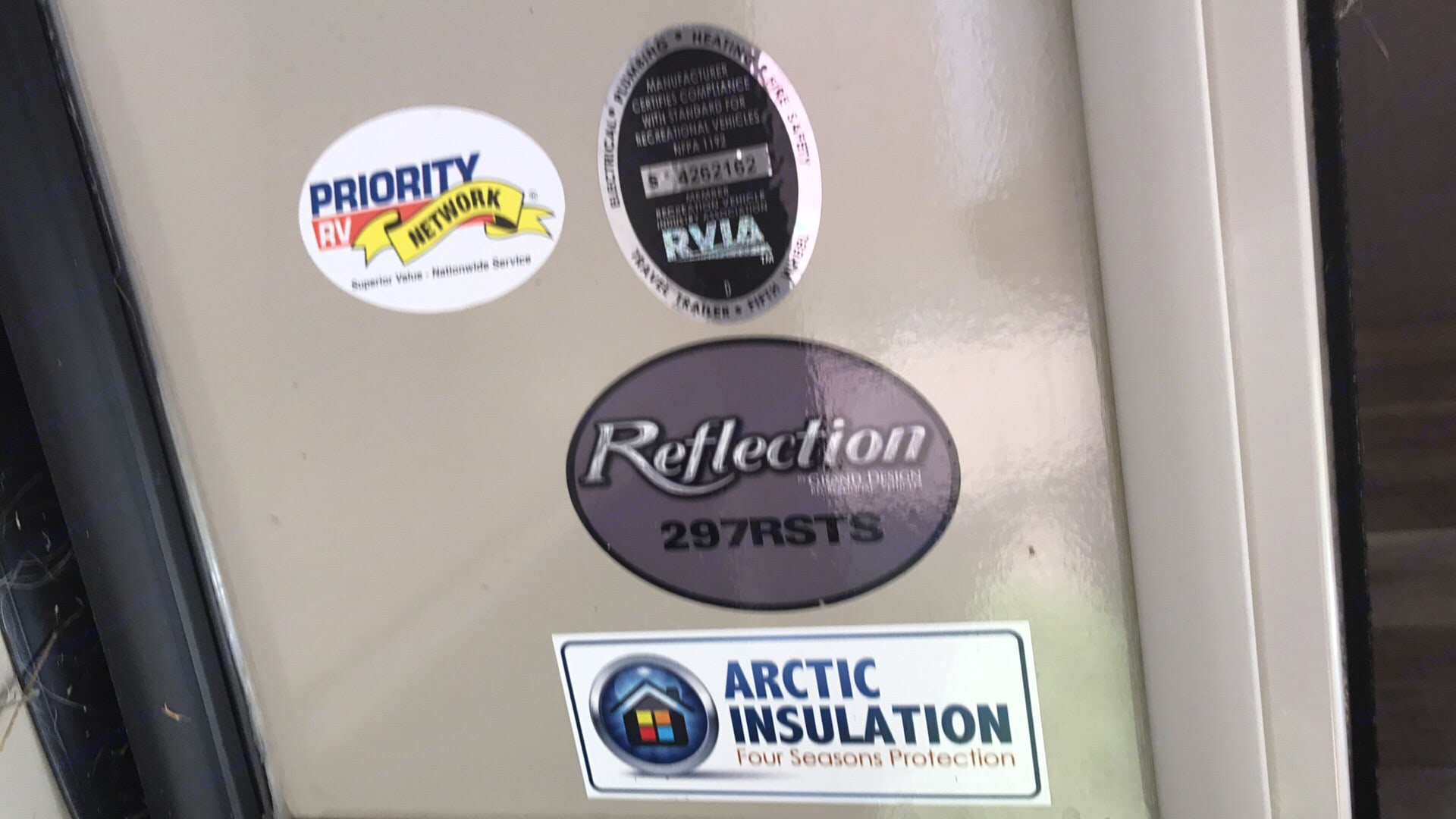 Arctic Insulation-PERFECT for cold weather camping!. Grand Design Reflection 2017