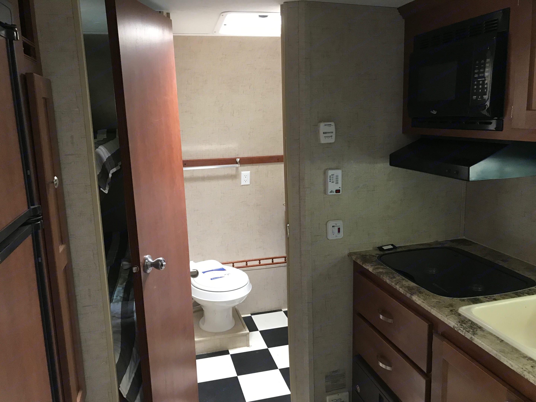 Bathroom. Riverside Rv Whitewater Retro 181B 2016