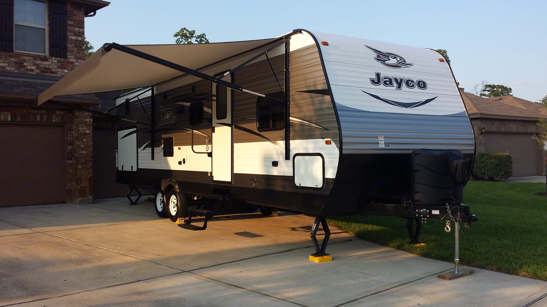 awning. Jayco Jay Flight 2017