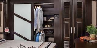 Full closet. Jayco Seismic 2016