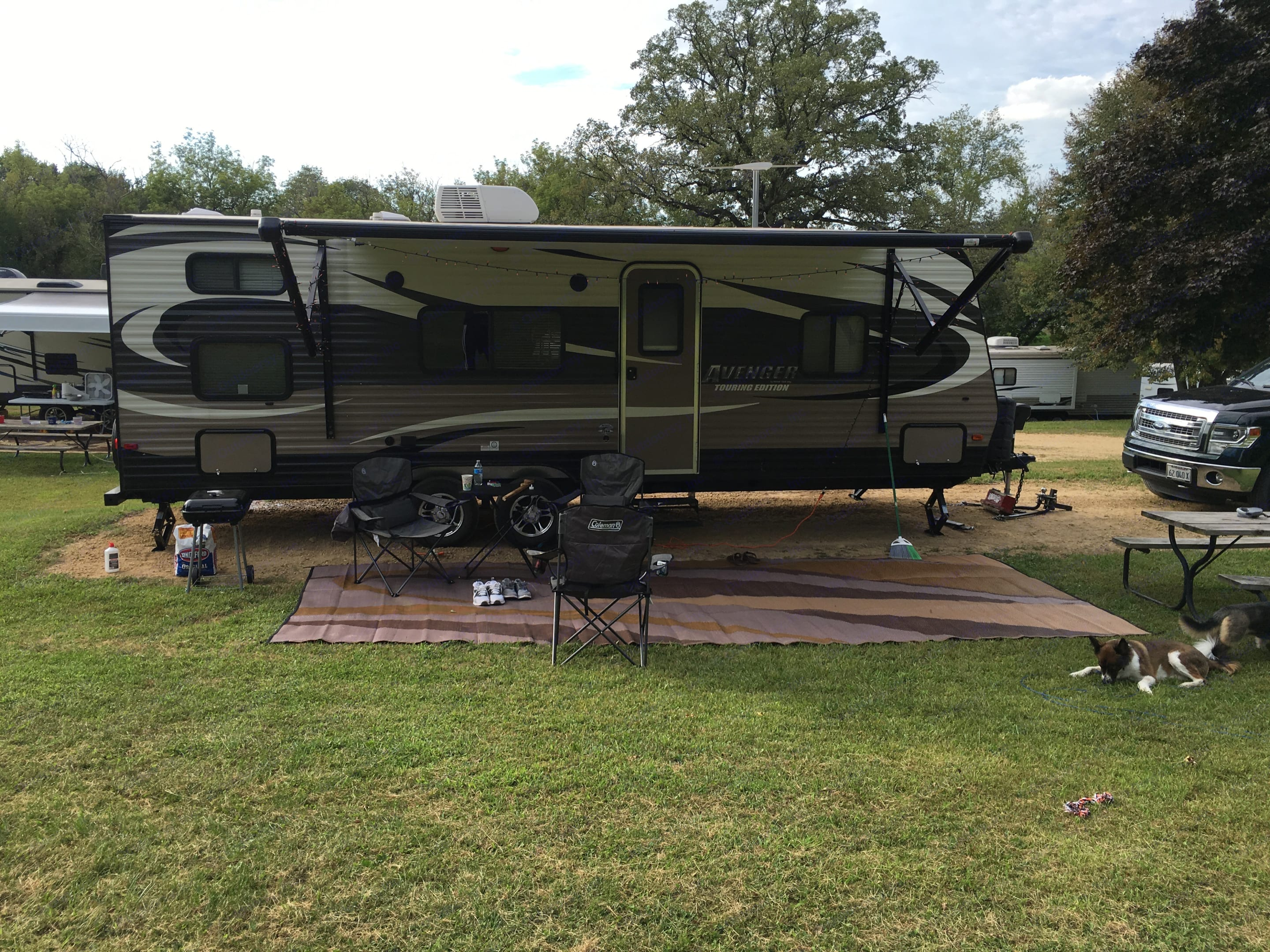 This cozy little trailer will feel like camping, with just enough comfort to feel like a cozy home, too. . Prime Time Avenger 2015