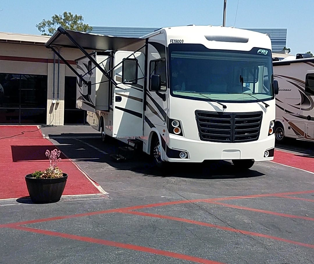 We just picked up our brand new RV!. Forest River Fr3 2018
