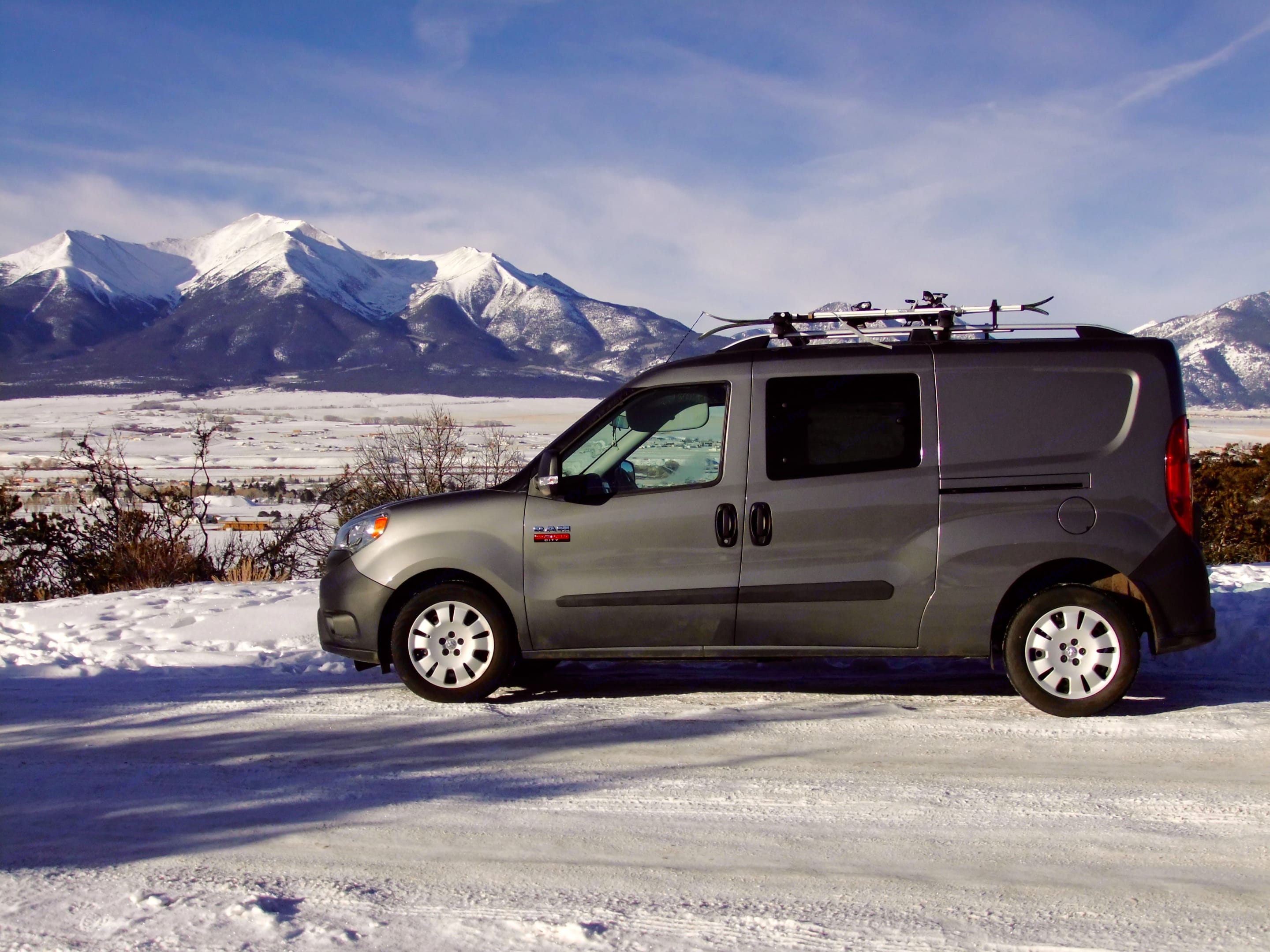 Looking for a way to escape to the hills?  Wally is front wheel drive and comes with snow tires, so you wont have any problems during snowy conditions.. Dodge Other 2015