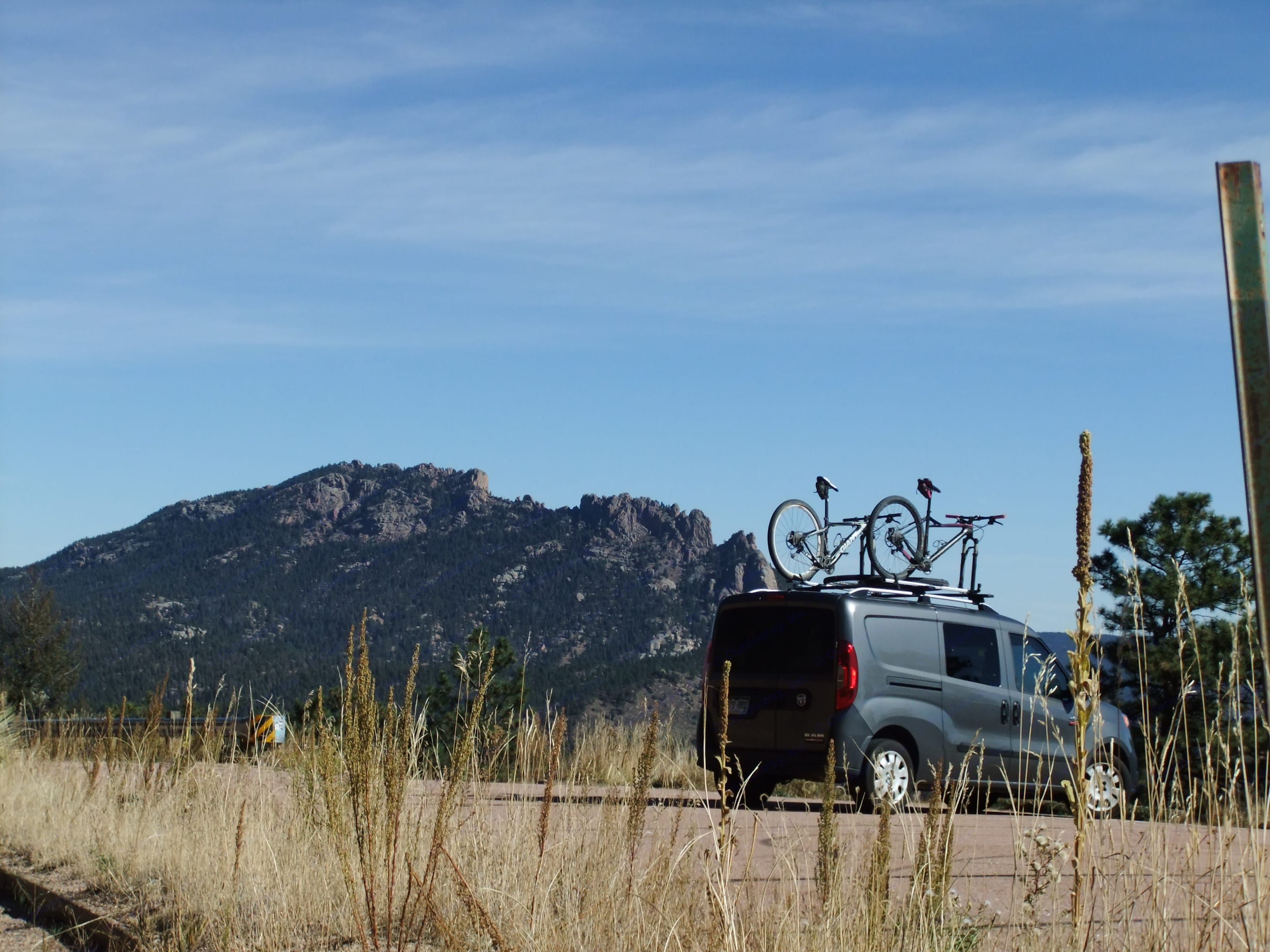 Throw your bikes up top and head to the hills.... Dodge Other 2015