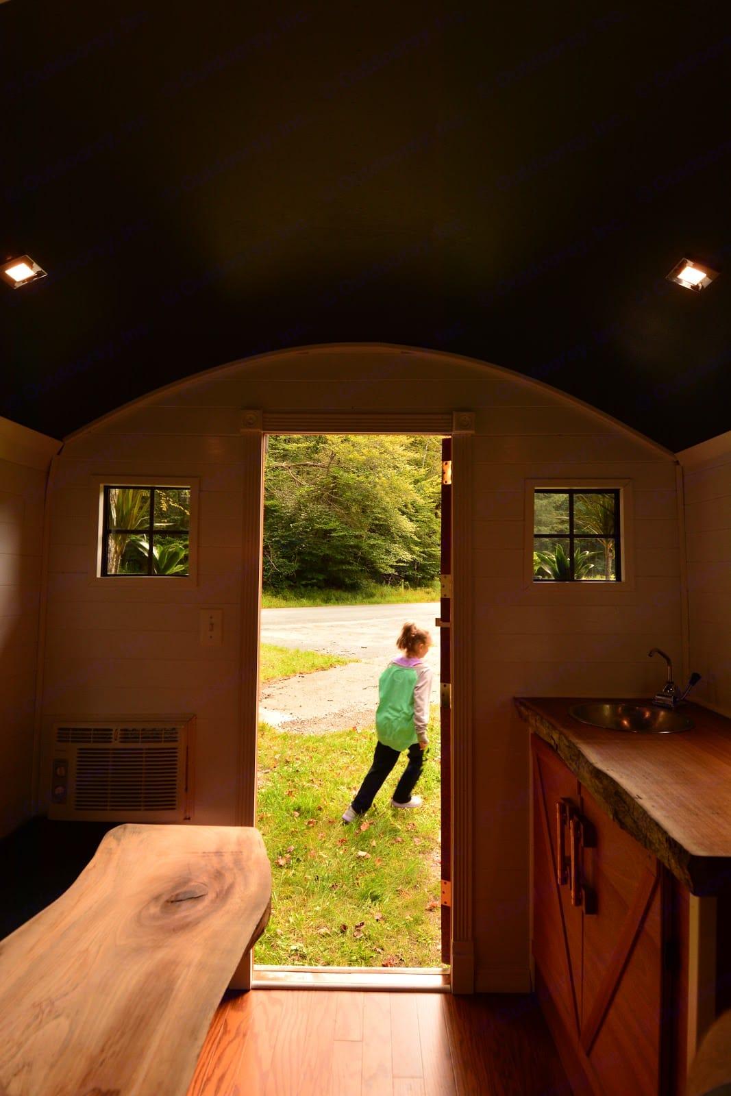 See America through this door!. Custom Camper 2017