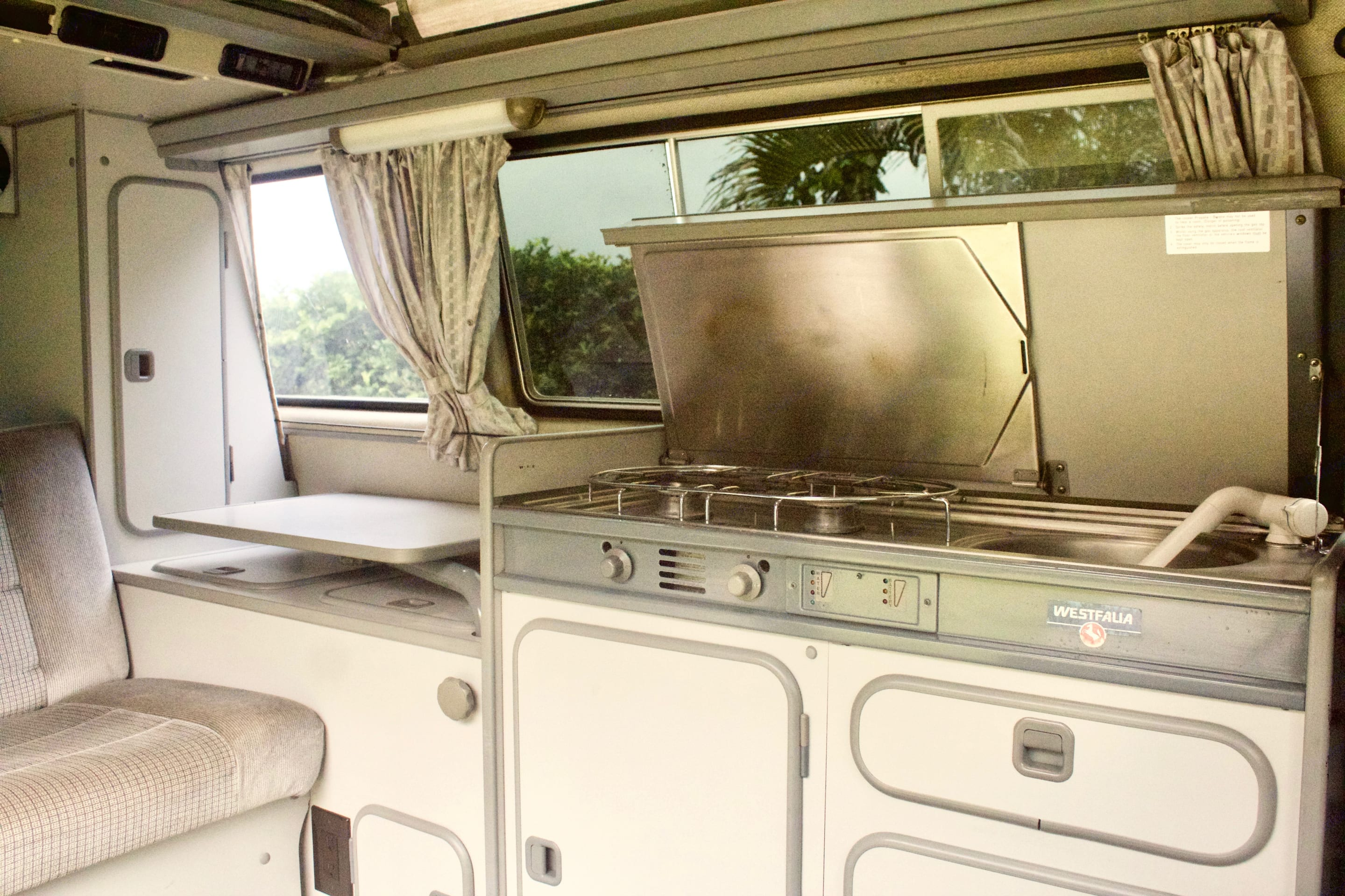 For the Chef in the group!. Volkswagen Westfalia 1987