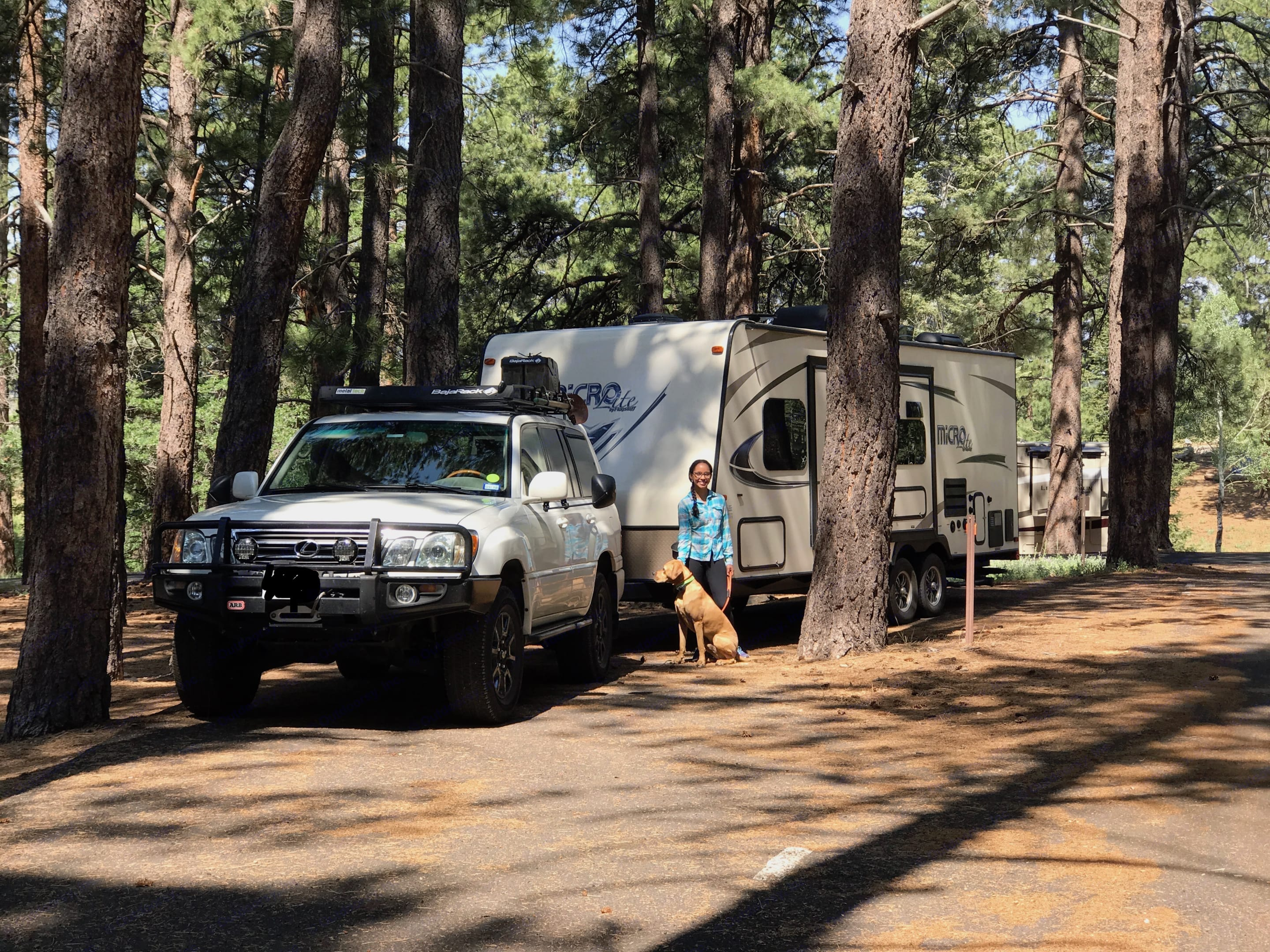At Grand Canyon National Park. Forest River Micro-Lite 2017