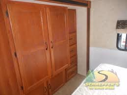 Lots of Closet and Drawer Space in the Bedroom.. Coachmen Freelander 2011
