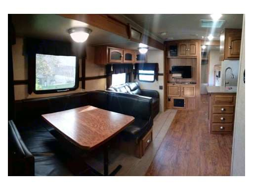 Living space . Forest River Rockwood Windjammer 2016