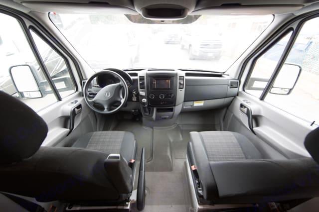 Front Cab. Coachmen Prism 2150LE 2016