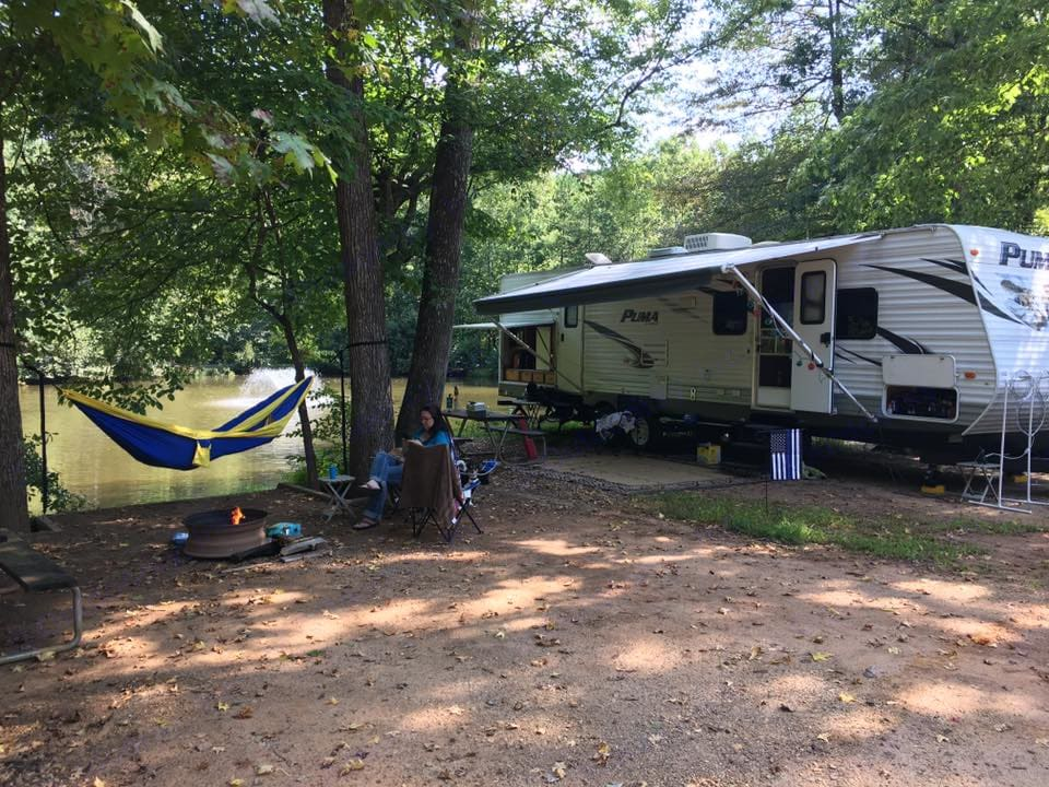 This is a beautiful unit with a lot of amenities that make life camping comfortable, whether inside or out.. Forest River Puma 2013