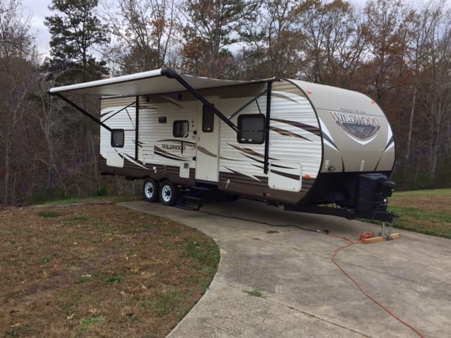 Let's go camping!. Forest River Wildwood 2017