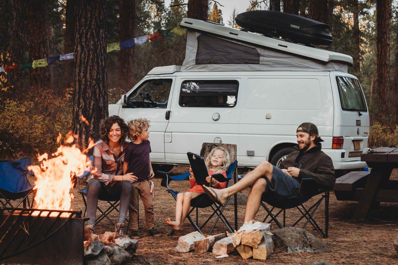 Gather around the fire to make memories that will last a lifetime!. Volkswagen Eurovan Camper 2002