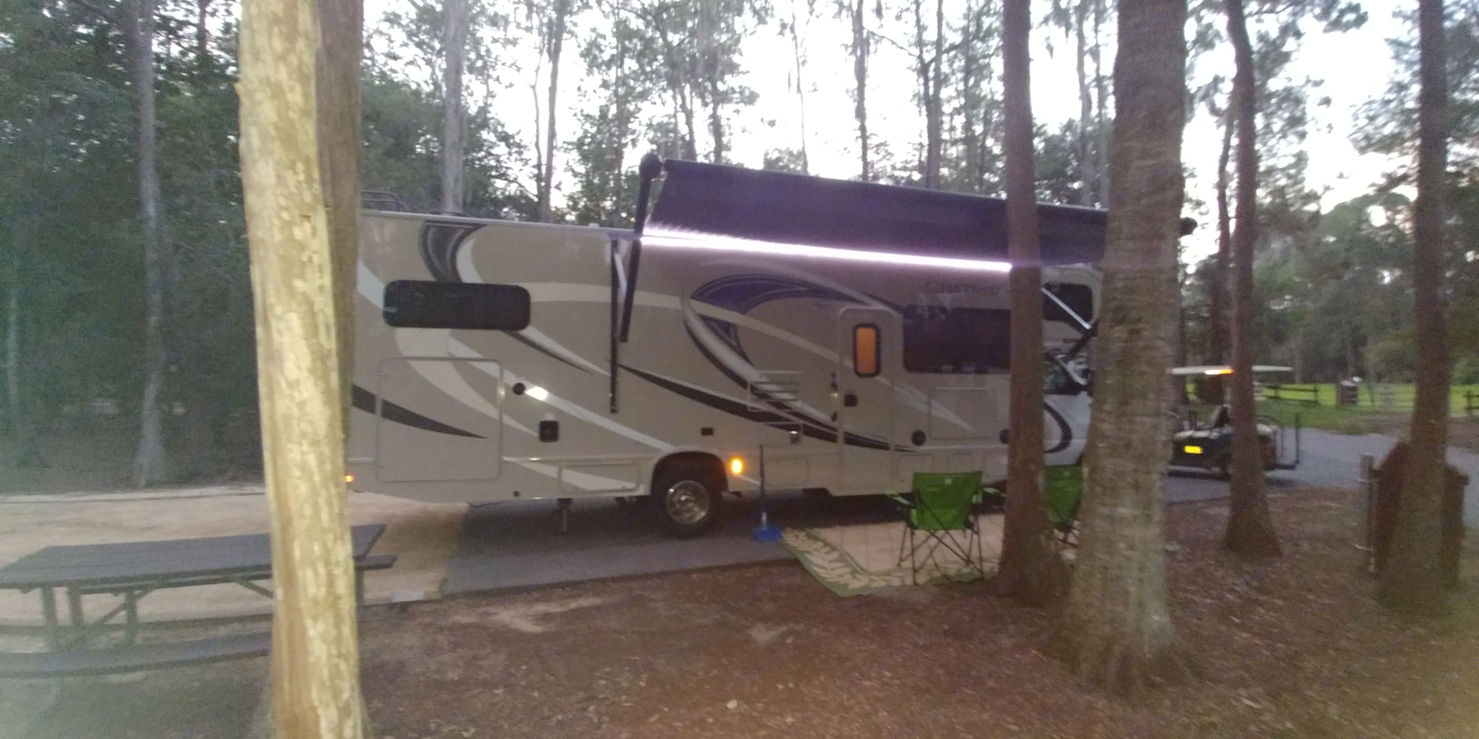 Ft Wilderness at Disney. Thor Motor Coach Chateau 2017