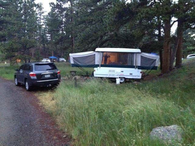 Easy to maneuver and set up! Get to relaxing faster! . Coleman Destiny Sea Pine 2001