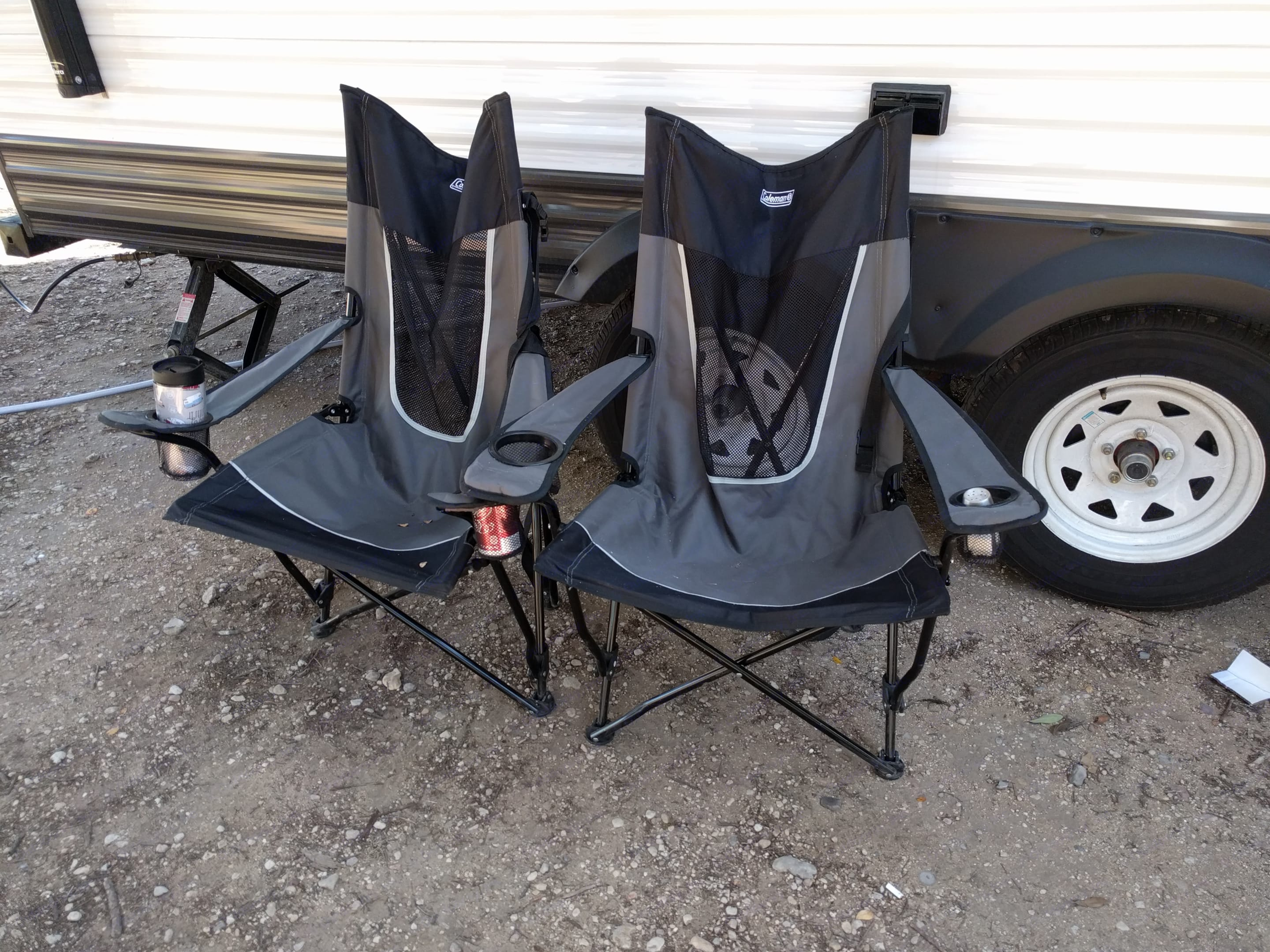 Camping chairs available for your use!. Jayco Jay Flight 2017