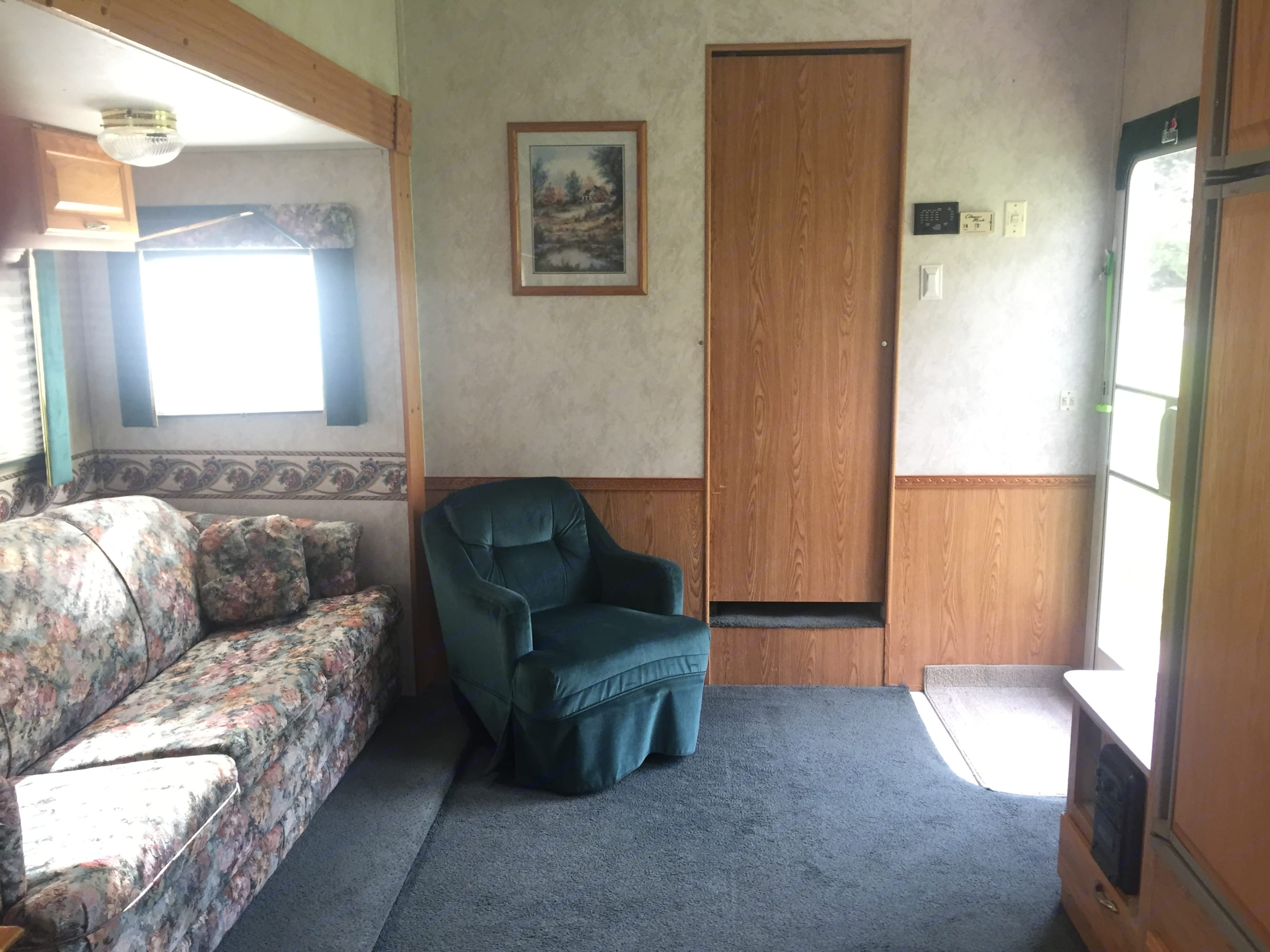 Living room with pull out bed in couch.. Gulf Stream Gulfstream 1998