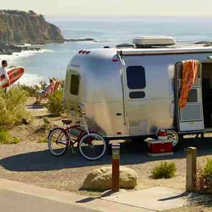 This is the front of my beautiful Airstream.. Airstream Classic Limited 1999