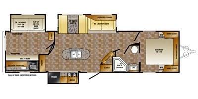 Floor plan . Crossroads Longhorn 2014