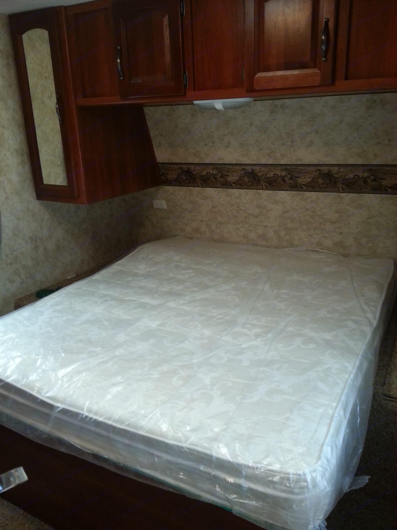 Queen bed in front bedroom. Keystone 11C 2011