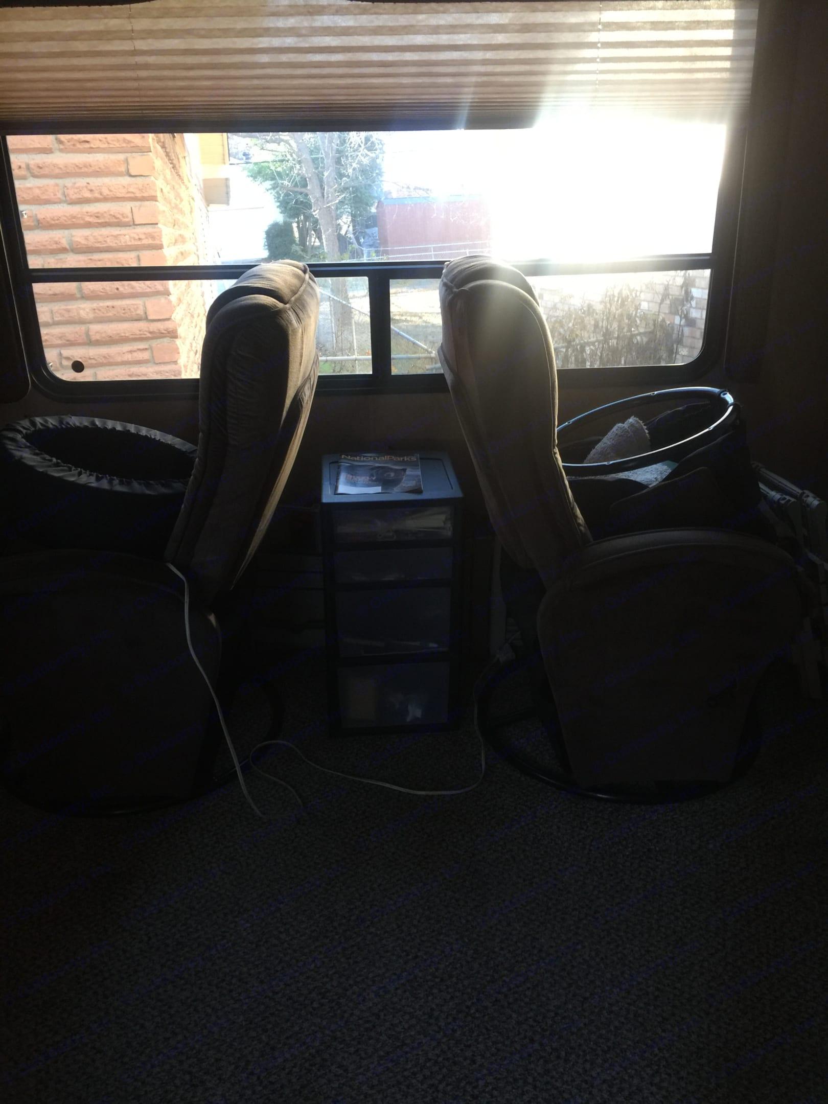 Basic recliners . Heartland Sundance 2012