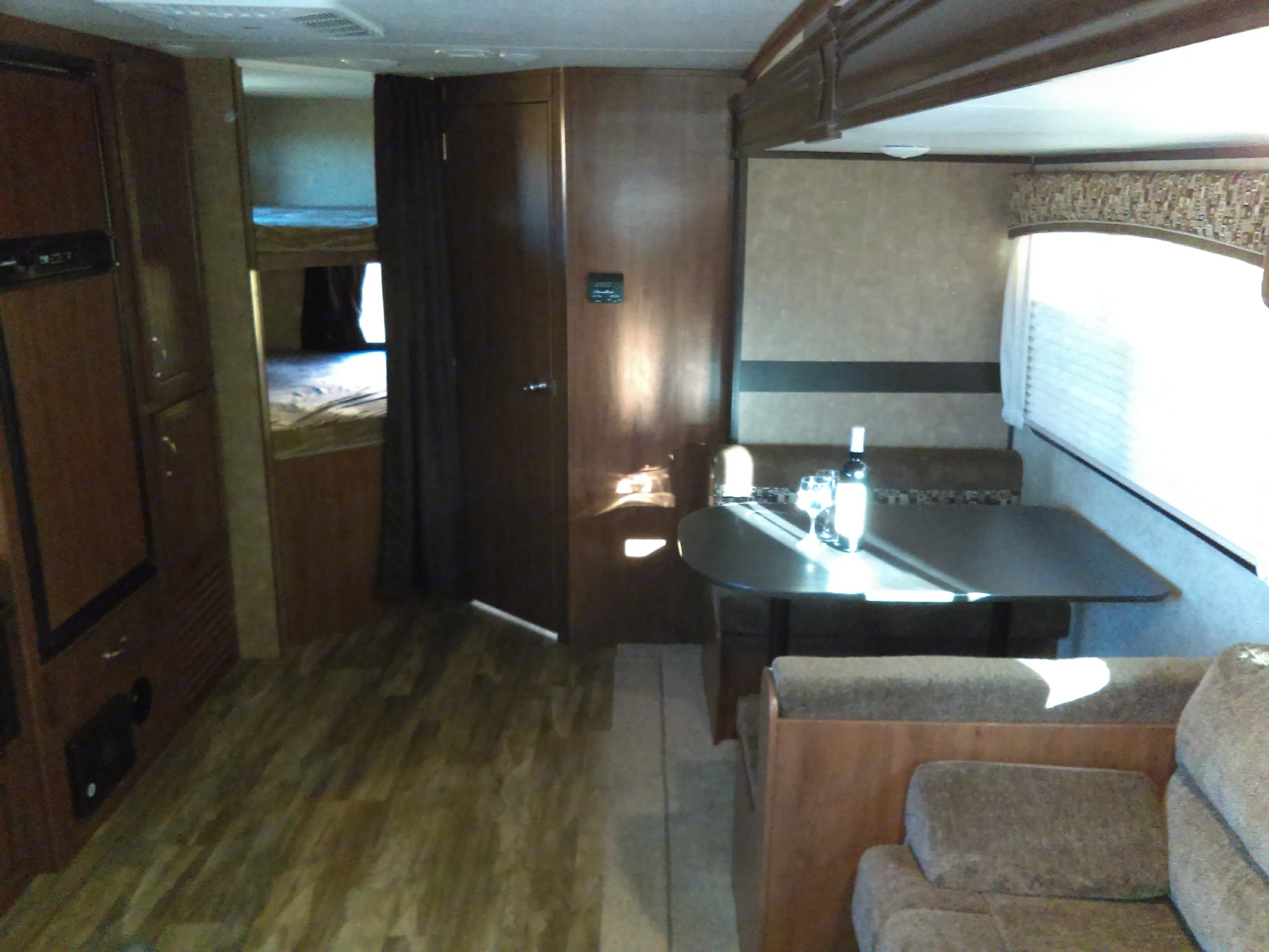 Lots of space. Jayco Jay Feather 2017