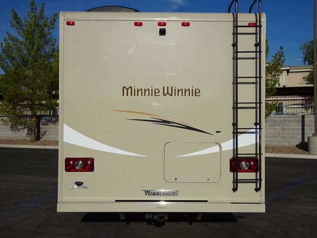Back. Winnebago Winnie Minnie 2016