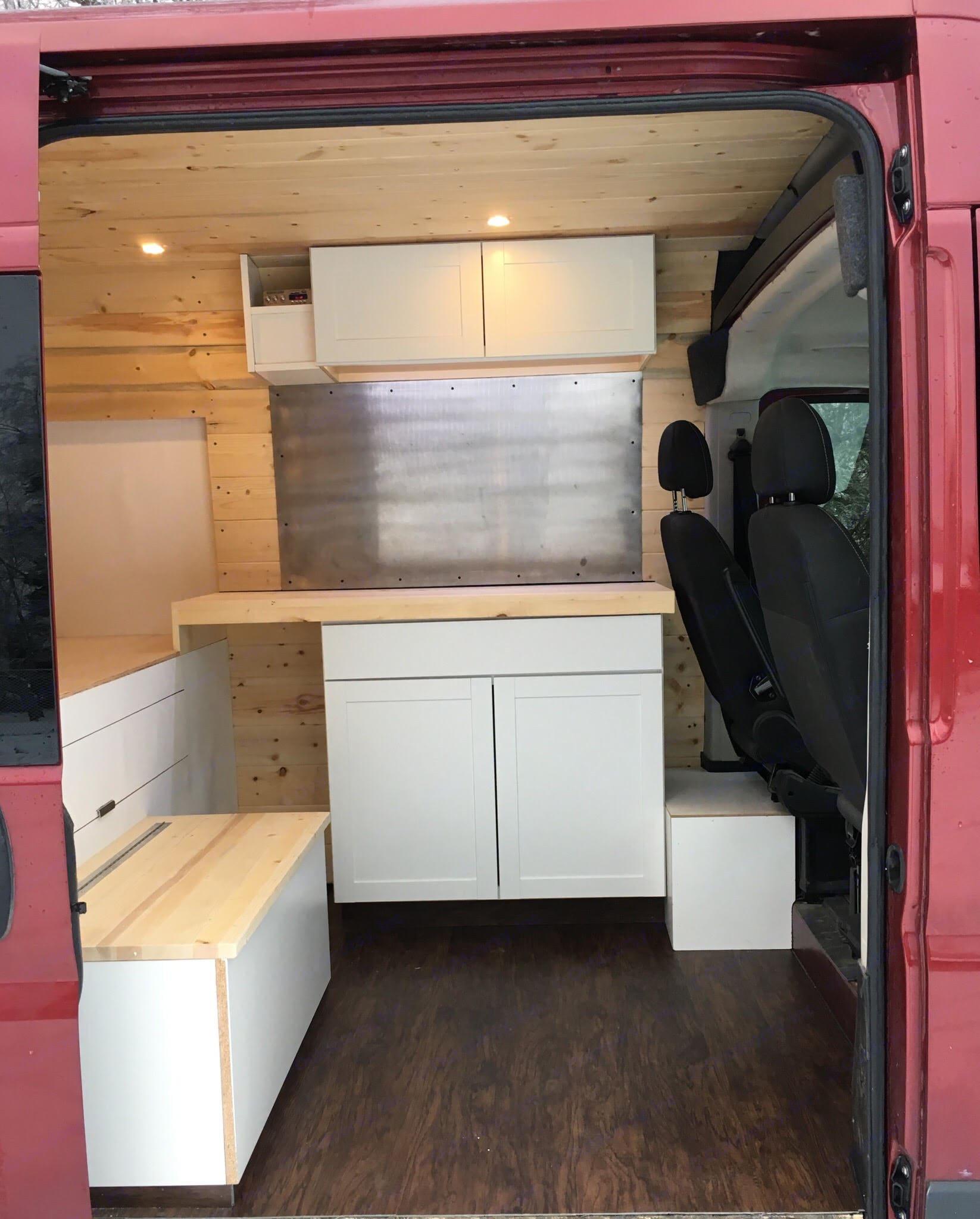 Kitchen setup. Ram Promaster 1500 2016