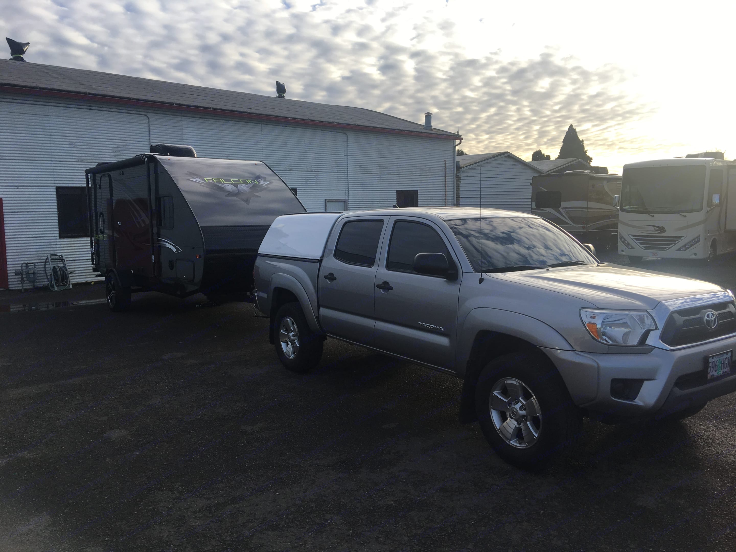 I tow with a 4 cylinder Toyota Tacoma prerunner and it handles like a champ. Travel Lite Other 2018