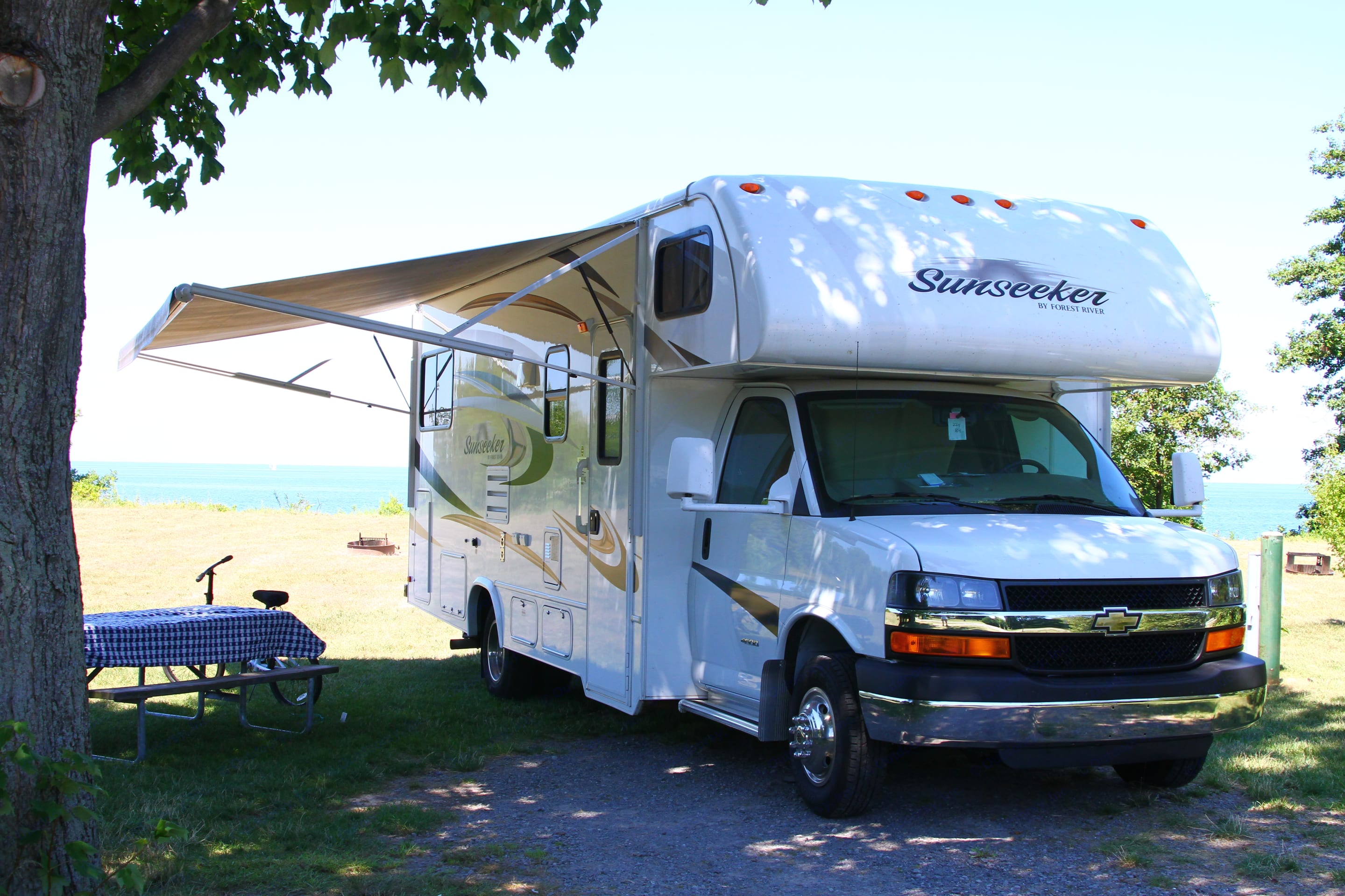 Great at Lake Ontario!. Forest River Sunseeker 2014