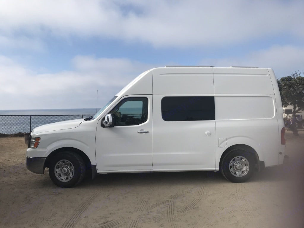 Stealth Camper Van easy to drive and use. Nissan NV2500 2012