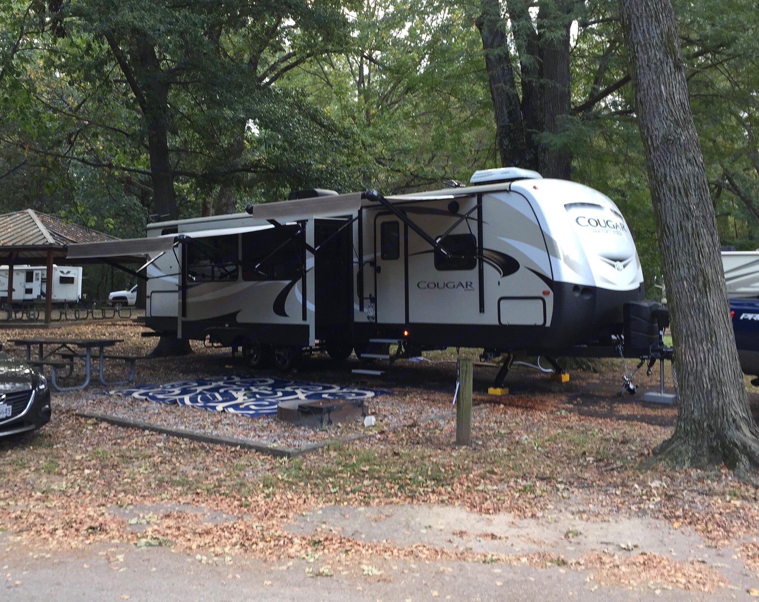 Ready to camp!. Keystone Cougar Half-Ton 2018