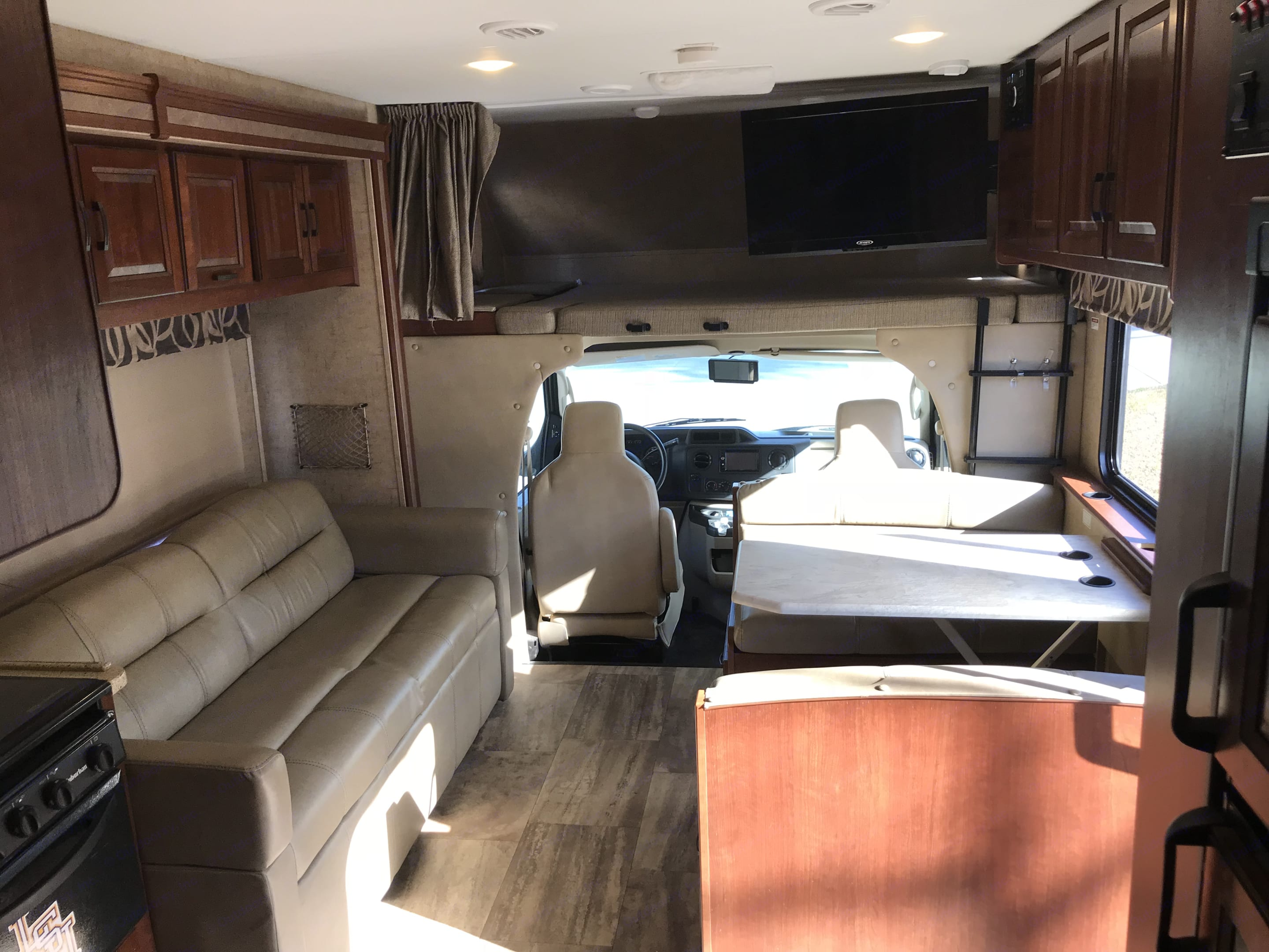 Front half of RV. Forest River Forester 2017