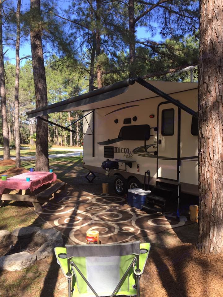 Quick glance at the travel trailer!. Forest River Micro-Lite 2016