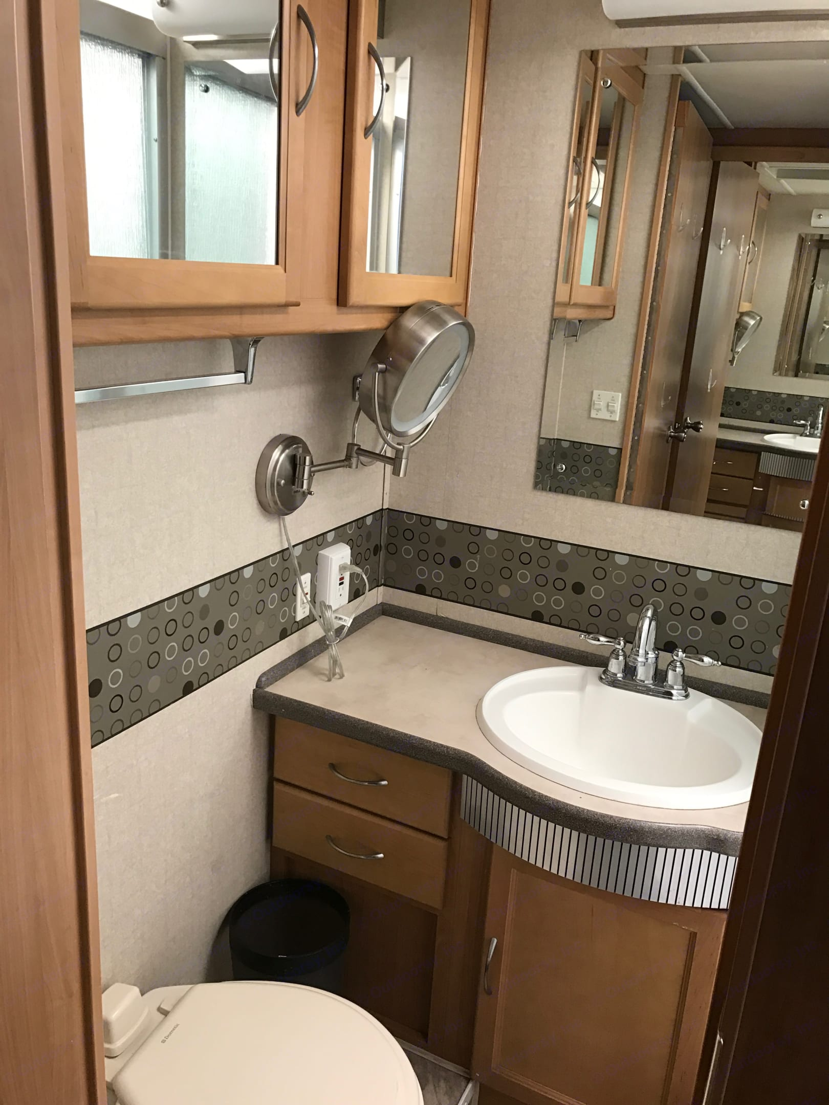 Bathroom. Fleetwood Southwind 2008