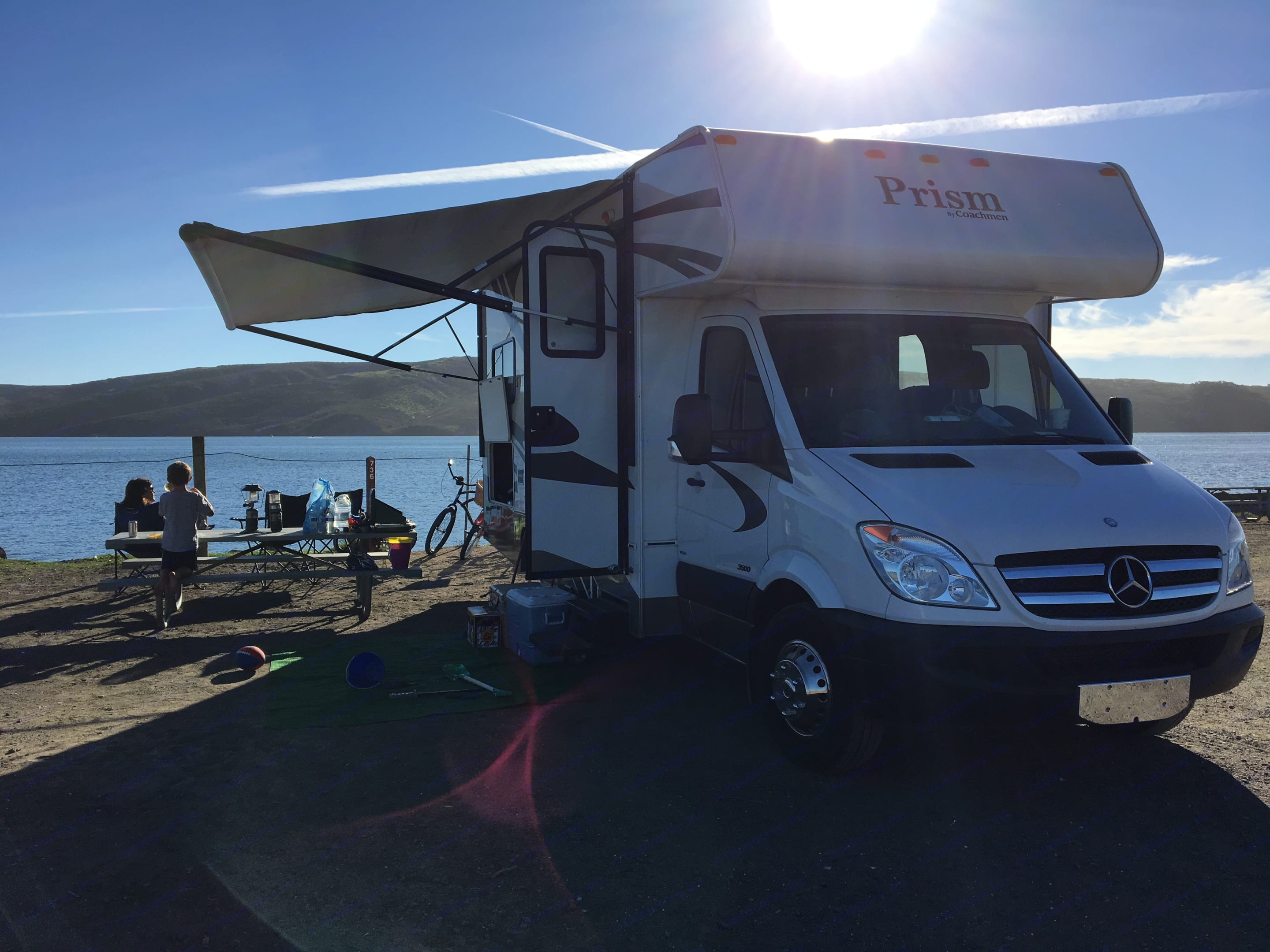 So much fun! This is the RV for you!. Coachmen Prism 2014