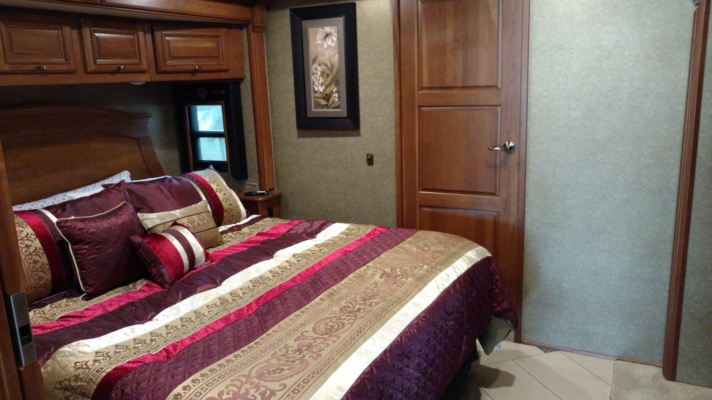 Bedroom. Winnebago Tour 2015