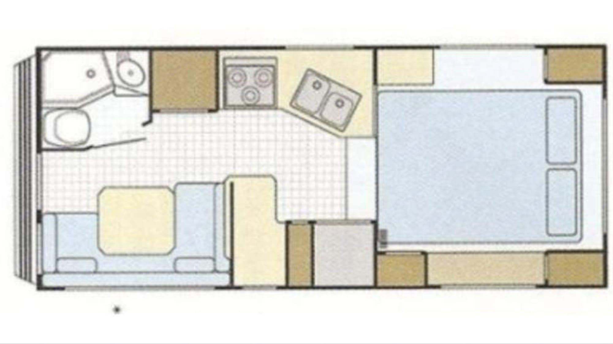 This incredible & efficient floor plan, even includes an optional bunk OVER dinette!. Lance 1010 2003