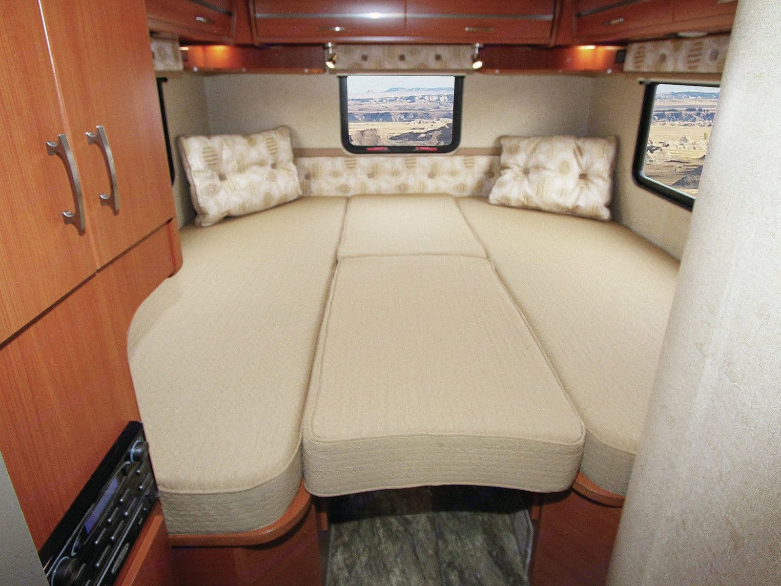 Plenty of room to Stretch out !!  . Winnebago View 2013