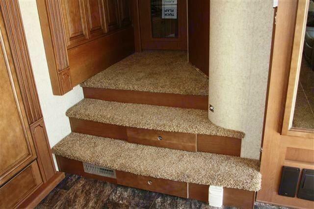 Stairway leading to master bedroom. . Heartland Landmark 2011