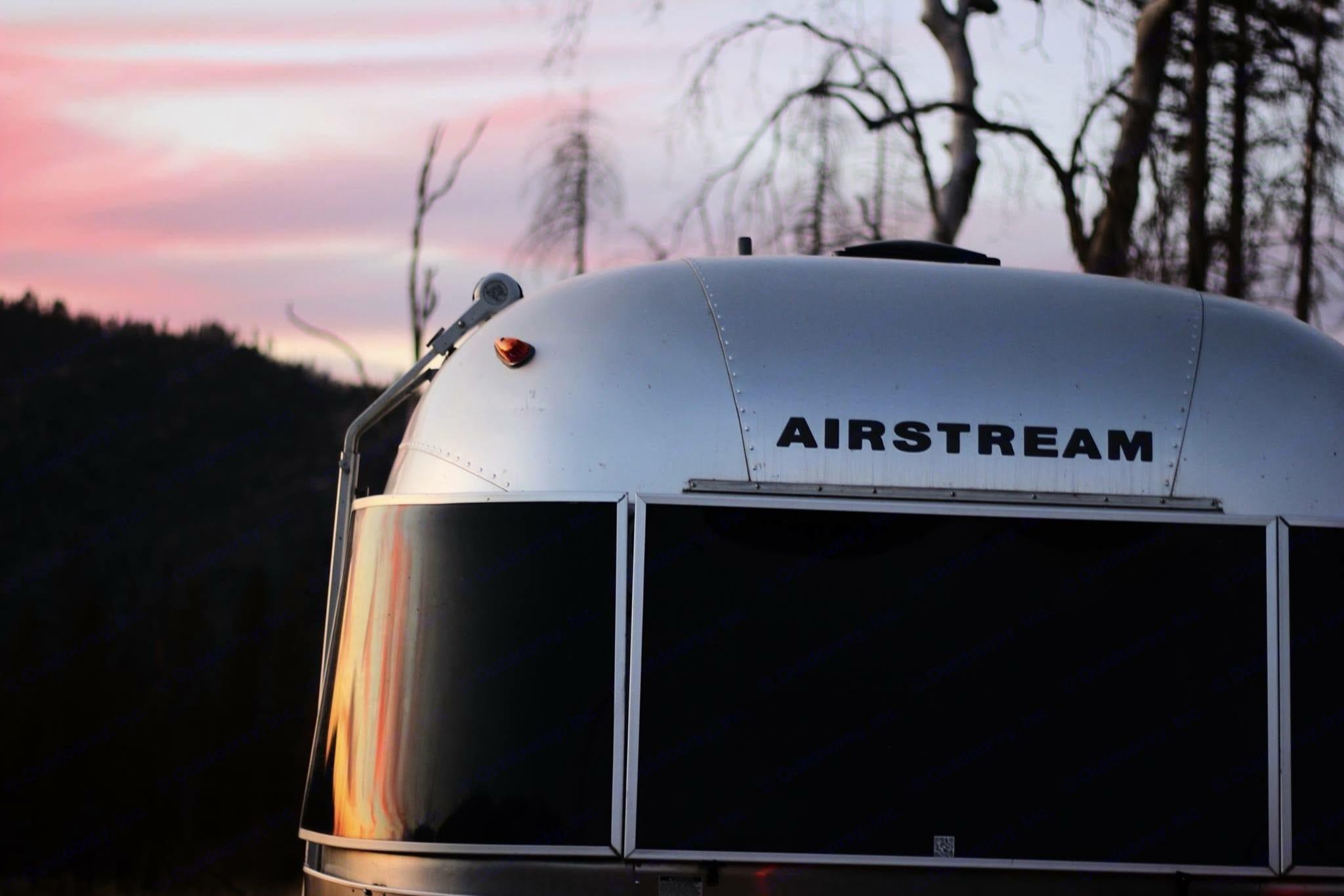 Sunset shot, taken in Yosemite Valley.. Airstream International 2006