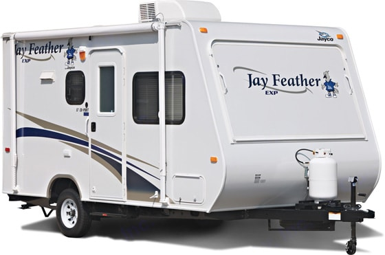 """Her name is """"Daisy"""".  She opens up like a flower and sleeps the whole family!. Jayco Jay Feather Exp 2009"""