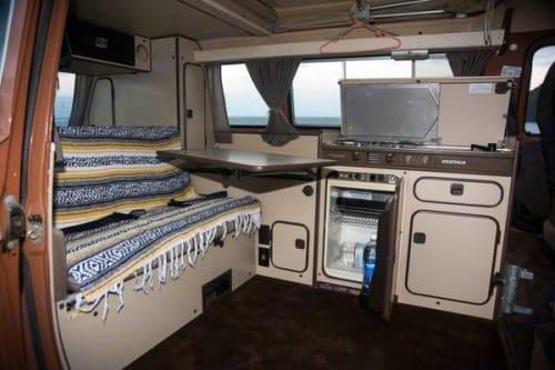 Camp area. All refrigerator/freezers were updated.. Volkswagen Vanagon 1986